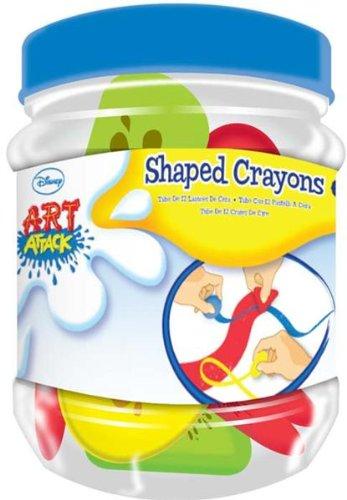 Anker - Ankartb - Crayons De Couleurs en Formes Différentes - Boîte De 10 - Art Attack