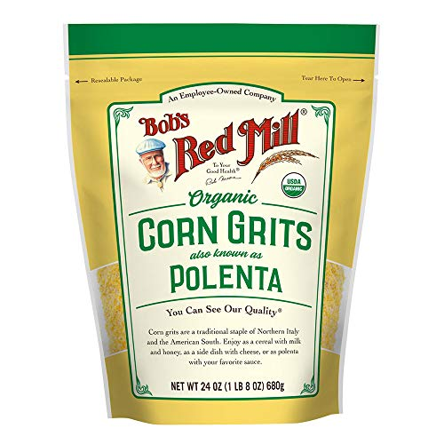 Bob's Red Mill Organic Corn Grits/ Polenta, 24 Oz
