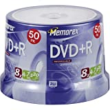 Memorex 4.7GB 8x DVD+R (50-Pack Spindle) (Discontinued by Manufacturer)