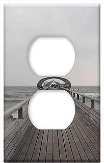 Switch Plate Outlet Cover - Kellenhusen Mecklenburg Bridge Baltic Sea Coast