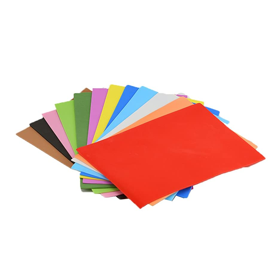EVA Foam Paper Sheet (60 pcs)-8x12 Inch-2mm Thick A4 Size for Children's Craft Activities DIY Cutters Art-21x30cm (Multicolor)