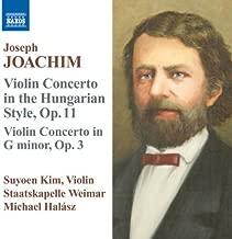 Joachim: Violin Concertos by Suyoen Kim (2009-10-27)