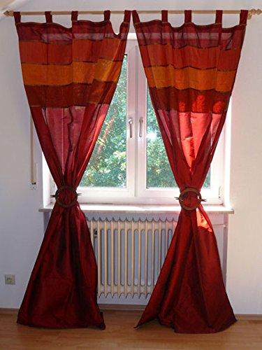 Marrakech Accessoires Orientalischer Vorhang Schlaufen Schal 110 cm x 235 cm (1 Stück) - 905307-0008