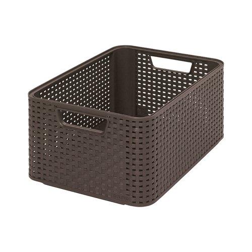 CURVER Aufbewahrungsbox, Polypropylene, Schokoladenbraun, 38.6 x 28.7 x 17 cm, 3
