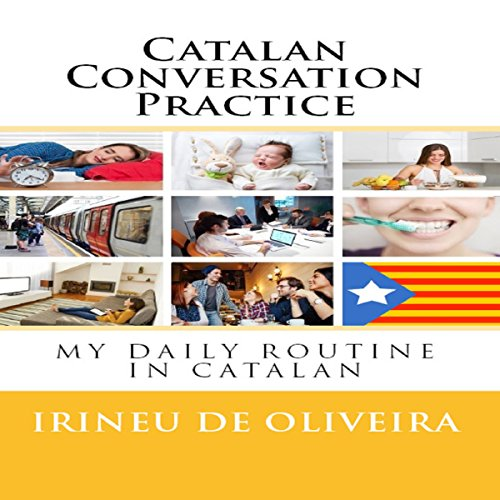 Catalan Conversation Practice audiobook cover art
