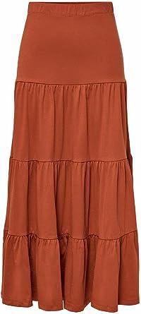 Only Onlmay Life Maxi Skirt Jrs Falda para Mujer
