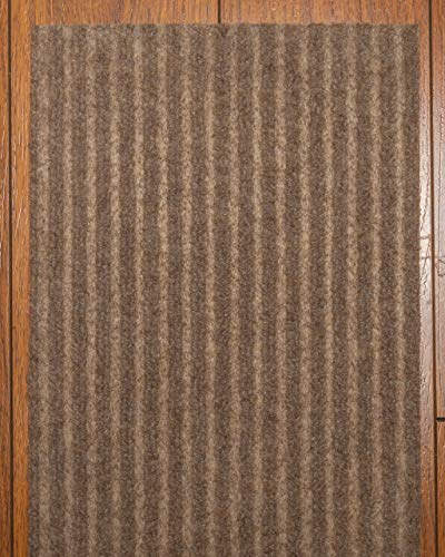 """Natural Area Rugs Beige Halton DIY Pet Friendly Polyester Carpet Stair Treads/Rugs Safety Slip Resistant for Kids, Elders, and Dogs. 9"""" x 29"""" (13)"""