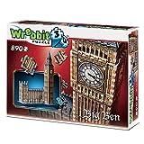 Wrebbit 3D-el Big Ben Puzzle 3D, Multicolor (W3D-2002)