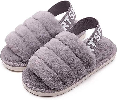 HommyFine Zapatillas de Estar por Casa para Niñas Niños Invierno Zapatillas Interior Casa...