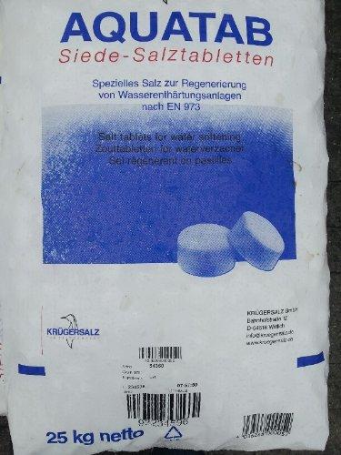 Salztablette für Enthärtung 25 Kg Sack / Regeneriersalz