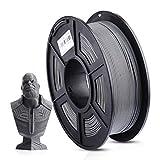 ANYCUBIC PLA 3D Printer Filament, 3D Printing PLA Filament 1.75mm Dimensional Accuracy +/- 0.02mm, 1KG Spool (2.2 lbs), Grey