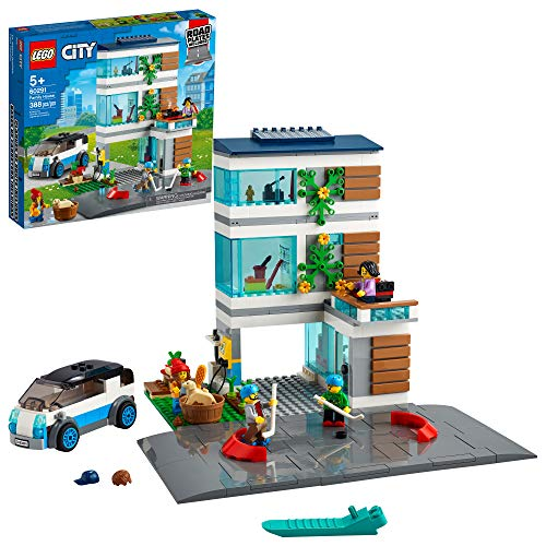 LEGO City Family House 388-Piece Building Kit, New 2021 Set - $49.99 Shipped