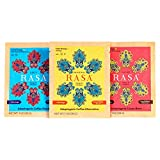 Rasa Herbal Coffee Alternative with Ashwagandha, Chaga + Reishi for All-Day Energy + Focus - Organic, Adaptogens, Vegan, Keto, Whole30, Starter Pack