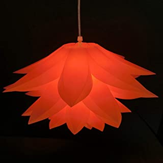 Indien abat-jour Ballon Rouge Orange 50 cm coton DECO Orient Lustre