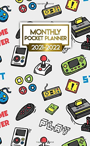 Monthly Pocket Planner 2021-2022: Two Year (24-Months) Monthly Organizer Calendar Agenda. Old...