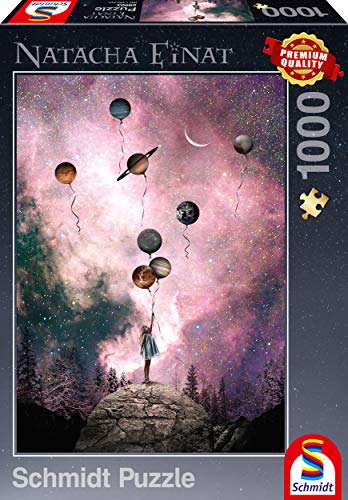 Schmidt Spiele 59903 Natacha Einat, Planet Sehnsucht, 1.000 Teile Puzzle, bunt