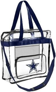 Forever Collectibles NFL Football Team Logo High End See Thru Clear Messenger Bag