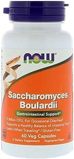Now Foods, Saccharomyces Boulardii, Gastrointestinal Support, 60 Veg Capsules