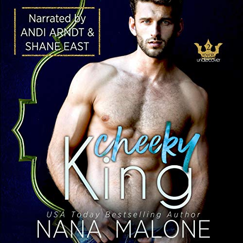 Cheeky King audiobook cover art
