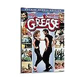 DSGFR Grease klassisches Filmposter, dekoratives Gemälde,