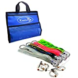 4 pcs/Bag 11 inch Octopus Skirted Offshore Game Fishing Lures Marlin Tuna Wahoo Dolphin Lures