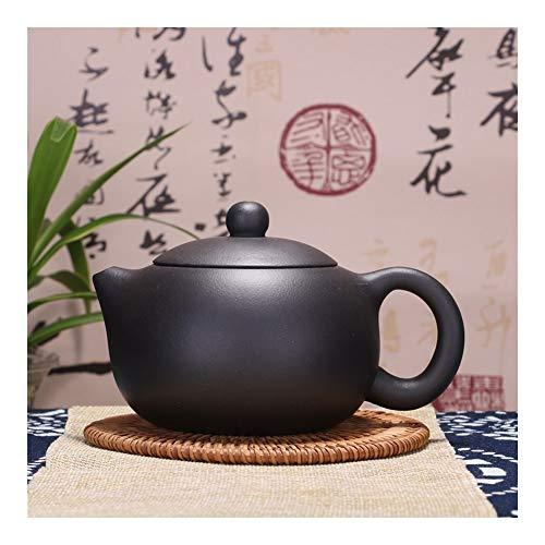 Teapot Teapot Pure Hand-Tea cup Teapot Tea Kettle Black Mud Beauty Tea Pot TongLingUSL (Color : Black)