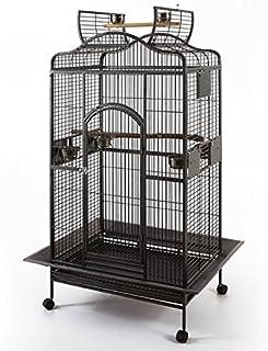 Grande Open Roof Parrot Bird Aviary Cage (Medium)