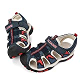 ALEADER Kids Youth Sport Water Hiking Sandals (Toddler/Little Kid/Big Kid) Navy 12 M US Little Kid