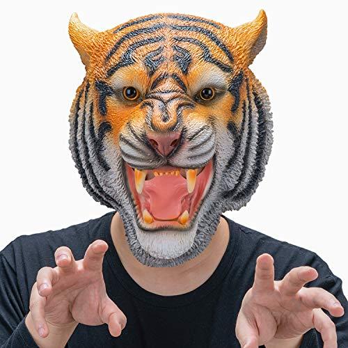 CreepyParty Máscara de Tigre Máscaras de Cabeza...