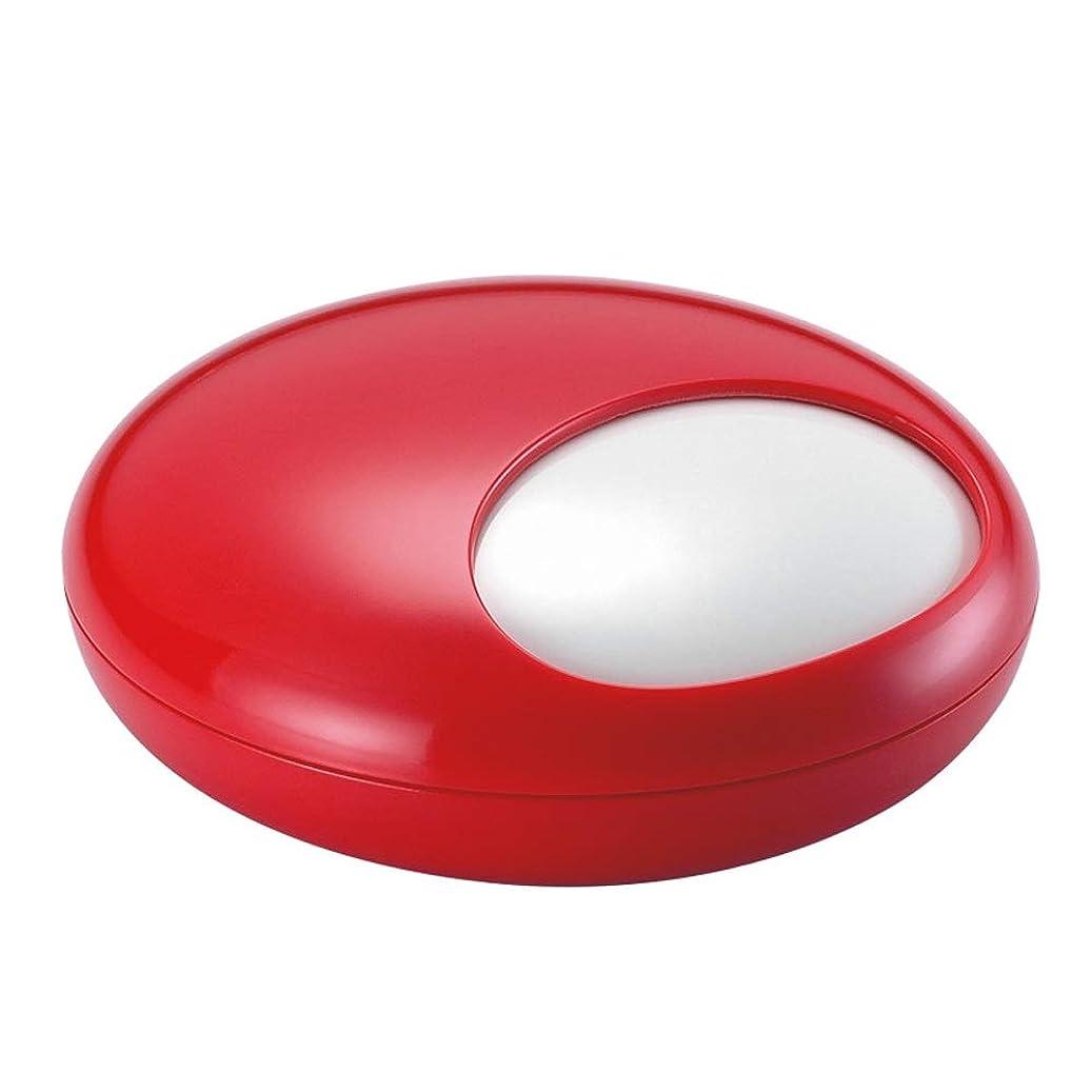 かろうじて気怠い気怠いふたの家の装飾とタバコの創造的な灰皿のための灰皿 (色 : 赤)