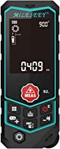 Mileseey R2 Laser Measure 164Ft Distance Meter with Built-in Measuring Wheel for Curve Surfaces Measurement