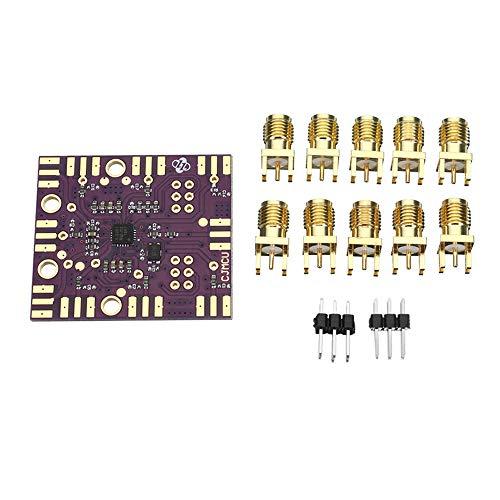 ZJF Componentes de la computadora Accesorios eléctrico Módulo generador de señal de Reloj SI5351B I2C Programable 27MHz + VCXO