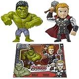 Marvel Avengers Figuras Coleccionables Vengadores, Set de 2 Juguetes...
