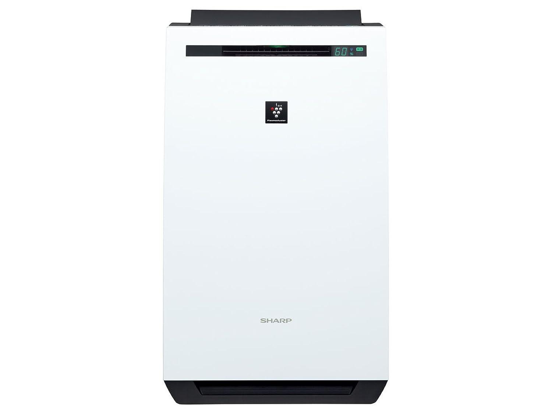 シャープ 除加湿 空気清浄機 プラズマクラスター 7000 スタンダード 18畳 / 空気清浄 32畳 ホワイト KC-HD70-W