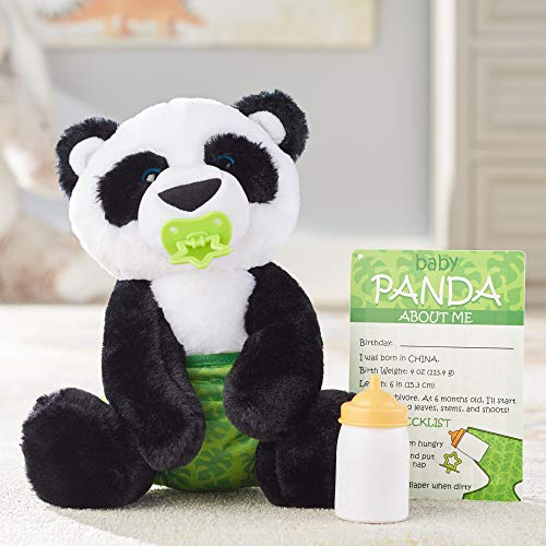 Melissa&Doug 40453 Baby Panda Stuffed Animal   Soft Toy   All Ages   Gift for Boy or Girl