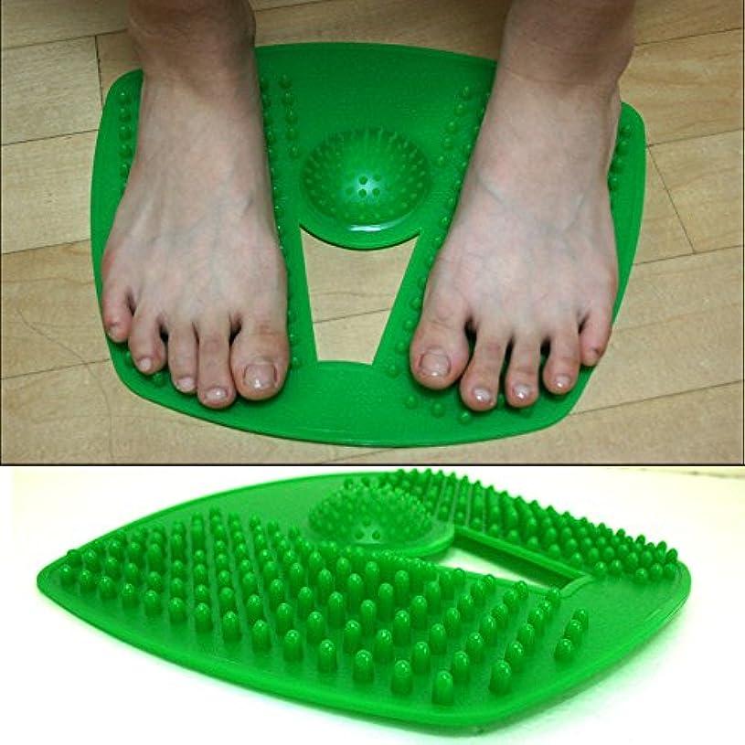 階段提供する住所血液循環指圧マットが刺激します/ Stimulates Blood Circulation Acupressure Mat / フット鍼灸マッサージマット / Foot Acupuncture Massager Mat [並行輸入品]