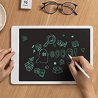 機械部品ポータブルライティングボード電子手書きパッドメッセージグラフィックボードLCDライティングタブレットペン付きデジタル描画子供向けアダルトホームスクールオフィス(色:白サイズ:S)