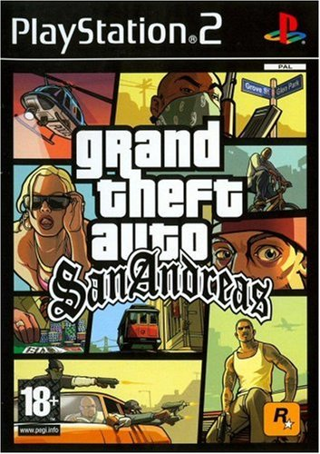 Third Party - Grand Theft Auto (GTA) - San Andreas Occasion [ PS2 ] - 5026555302623