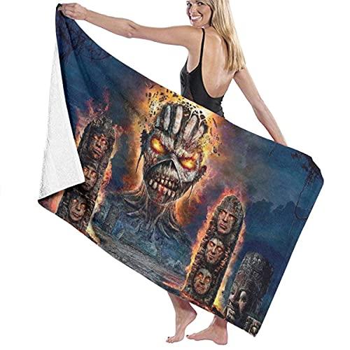IUBBKI Ex-Tinc-Tion Iron MAI-Den Super Suave Toalla de baño Natación SPA Toalla Ducha Camping Yoga Toalla de Playa de Arena Tamaño Personalizado 31x51 Pulgadas