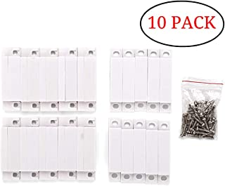 Gufastore 10pcs Surface Mount Alarm 10W 100V 0.5A in Max Magnetic Contact Ideal for Door Window Security