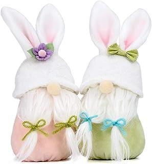 Easter Bunny Gnome for Home Decor Small Gmone Swedish Plush