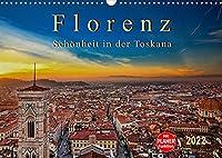 Florenz - Schoenheit in der Toskana (Wandkalender 2022 DIN A3 quer): Florenz - wunderschoen und das kulturelle Highlight in der Toskana (Geburtstagskalender, 14 Seiten )