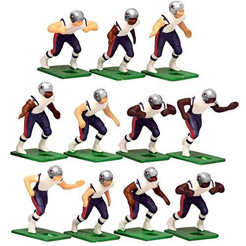 New England Patriots Away Jersey NFL Action Figure Set