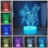 Marvel The Avengers LED veilleuse, Captain America Spiderman Iron Man 16 couleurs 3D veilleuse pour chambre à coucher, alimenté par USB, cadeau de nouvel an de Noël pour enfants garçons
