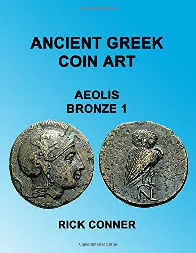 Ancient Greek Coin Art Aeolis Bronze 1