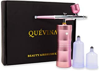 Cordless Airbrush Painting Kit Upgraded Handheld Makeup Airbrush Automatic Oxygen Spray Compressor Rechargeable Spray Pen ...