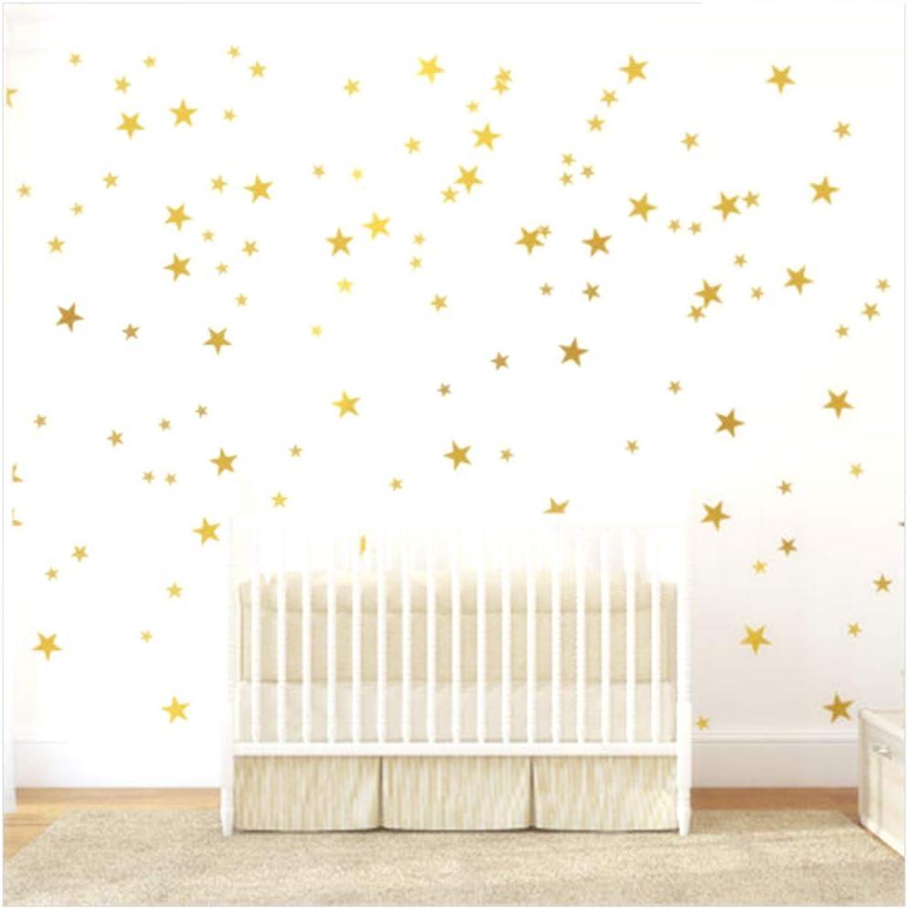 Mix Set XXL Set Girl Boy 99 Stars Wall Decal Sticker Nursery