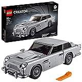 LEGO Creator Expert-James Bond Aston Martin DB5, maqueta detallada de coche de lujo de juguete de 007 (10262)