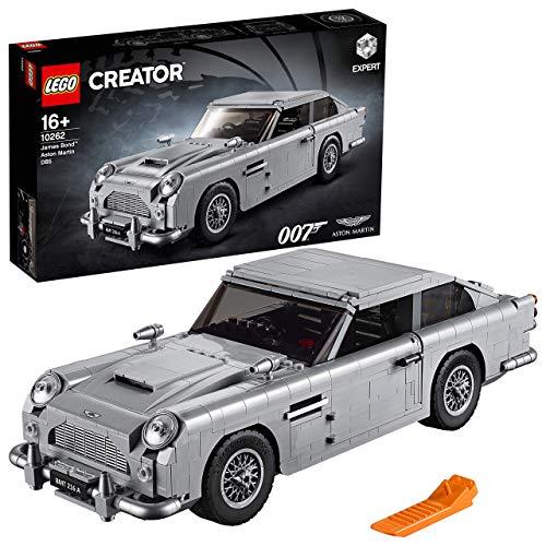 LEGO Creator - James Bond Aston Martin DB5, detallada maqueta de juguete del icónico vehículo de 007 (10262)