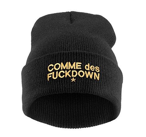 Beanie Hat Bonnet Fashion Jersay Oversize Bad Hair Day Bastard Diamond Commes